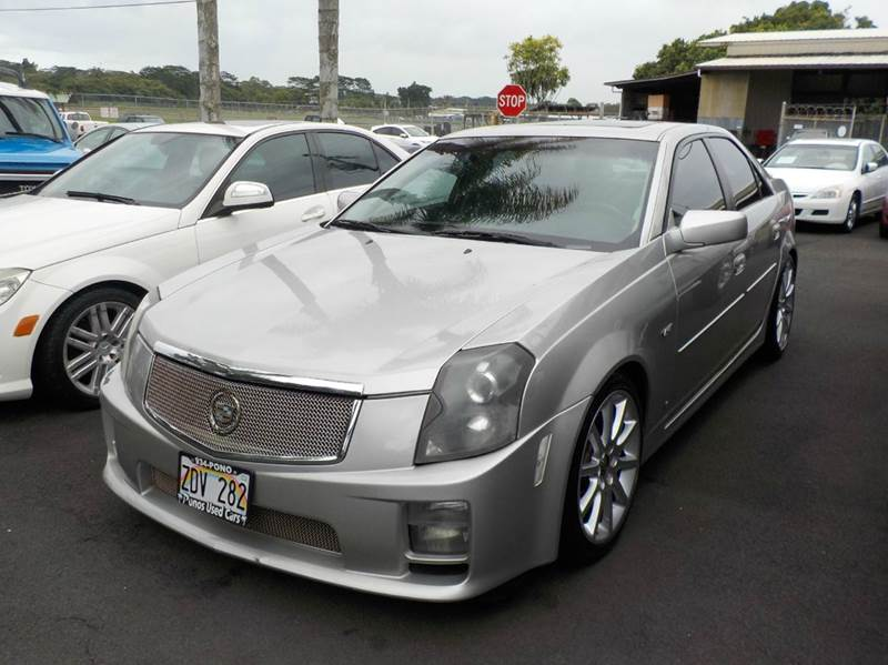 2007 Cadillac CTS-V 4dr Sedan - Hilo HI