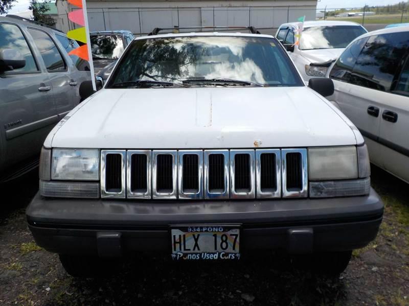 1993 Jeep Grand Cherokee 4dr Laredo 4WD SUV - Hilo HI