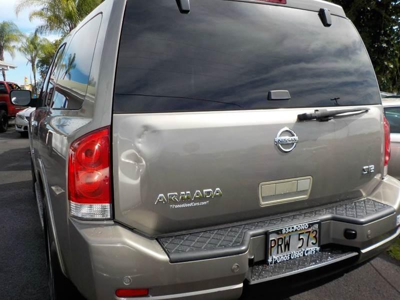 2008 Nissan Armada 4x2 SE 4dr SUV - Hilo HI