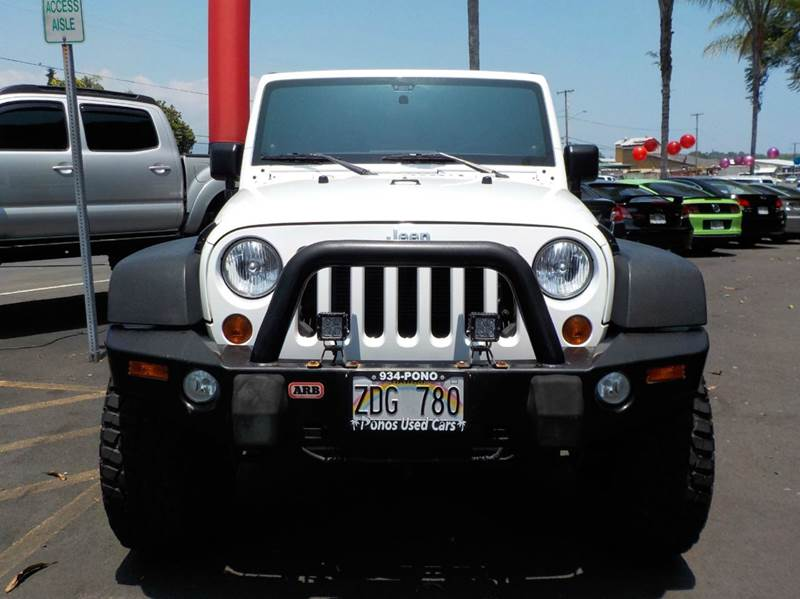 2012 Jeep Wrangler Unlimited 4x4 Rubicon 4dr SUV - Hilo HI