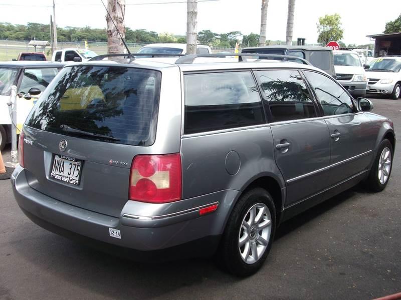 2004 Volkswagen Passat AWD 4dr GLS 1.8T Turbo 4Motion Wagon - Hilo HI