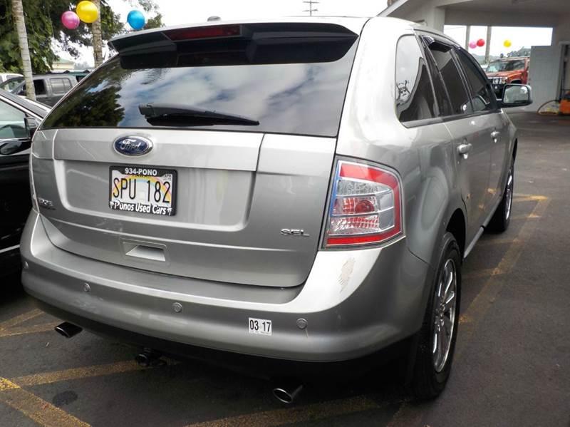2008 Ford Edge SEL 4dr SUV - Hilo HI