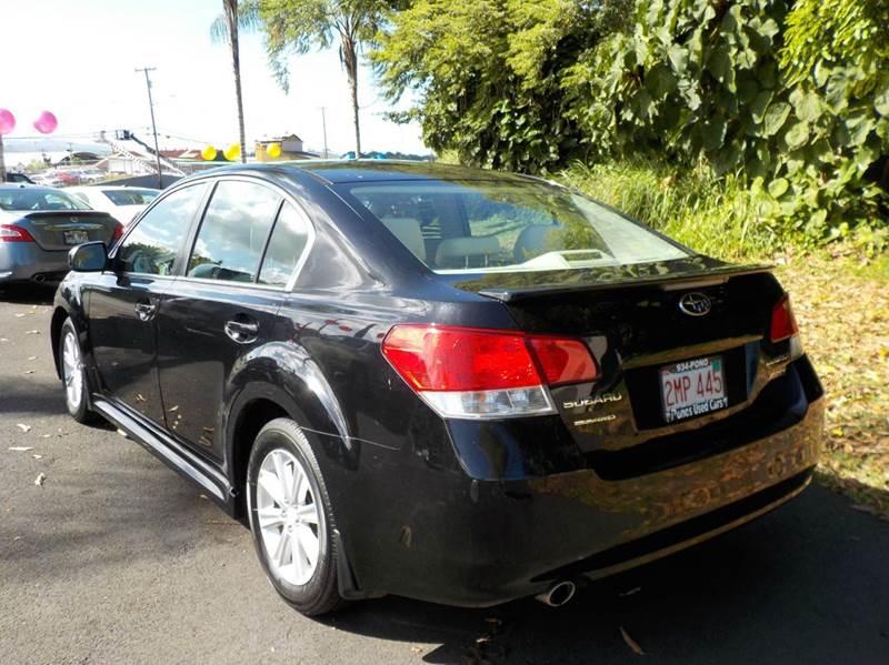2011 Subaru Legacy 2.5i Premium AWD 4dr Sedan CVT - Hilo HI