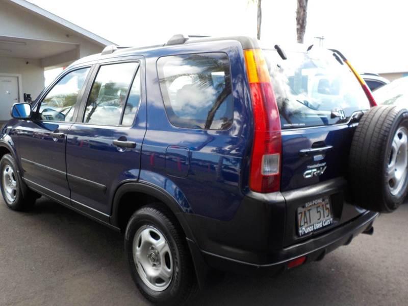 2004 Honda CR-V AWD LX 4dr SUV - Hilo HI