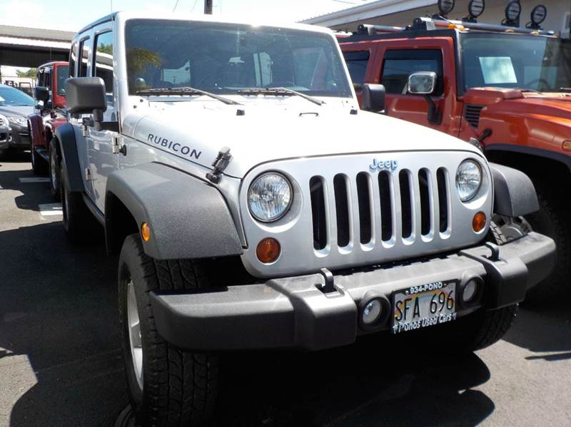 2010 Jeep Wrangler Unlimited 4x4 Rubicon 4dr SUV - Hilo HI