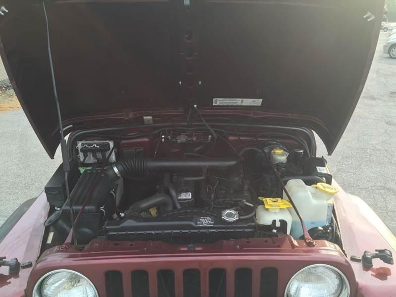 2002 Jeep Wrangler Sport 4WD 2dr SUV - Rochester NY