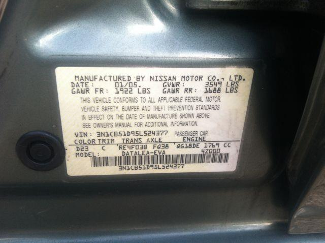 2005 Nissan Sentra 1.8 S 4dr Sedan - Rochester NY