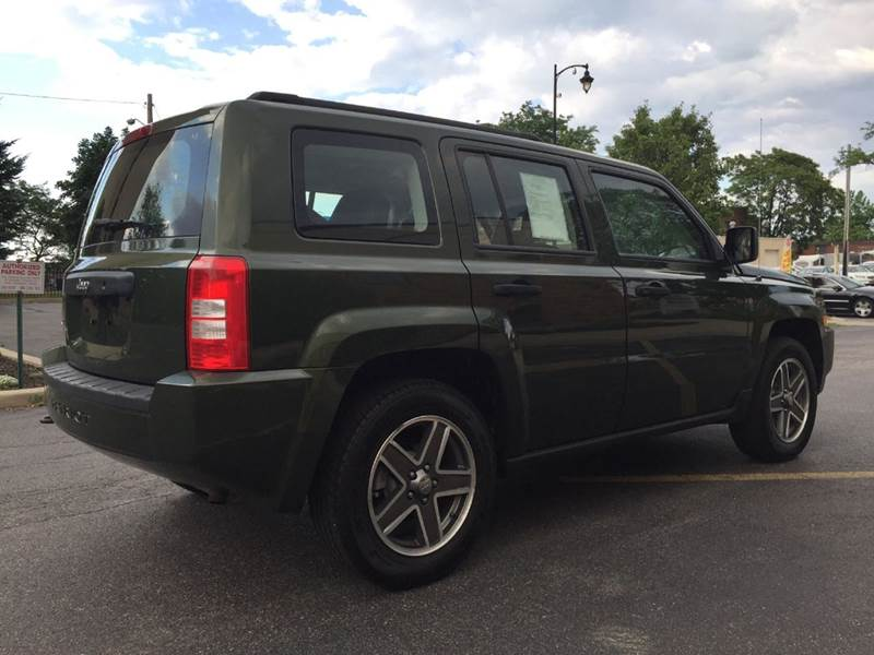 2008 Jeep Patriot 4x4 Sport 4dr SUV w/CJ1 Side Airbag Package - Rochester NY