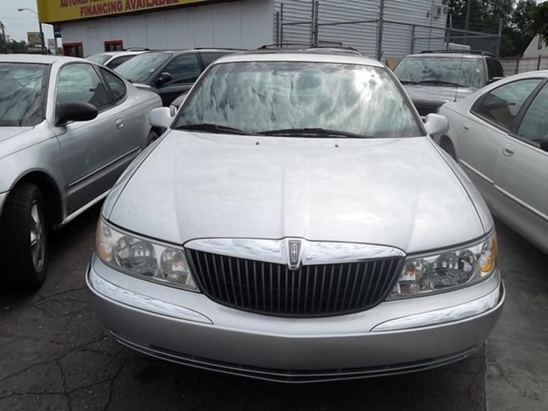 2001 Lincoln Continental Base 4dr Sedan - Detroit MI