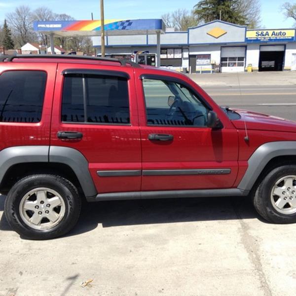 2006 Jeep Liberty Sport 4dr SUV 4WD - Detroit MI