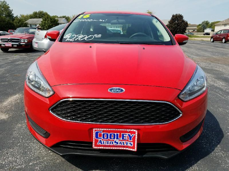 2016 Ford Focus SE 4dr Hatchback - North Liberty IA