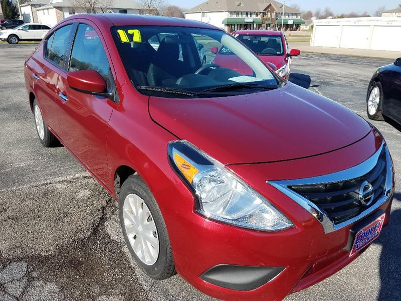 2017 Nissan Versa Sv In North Liberty Ia Cooley Auto Sales