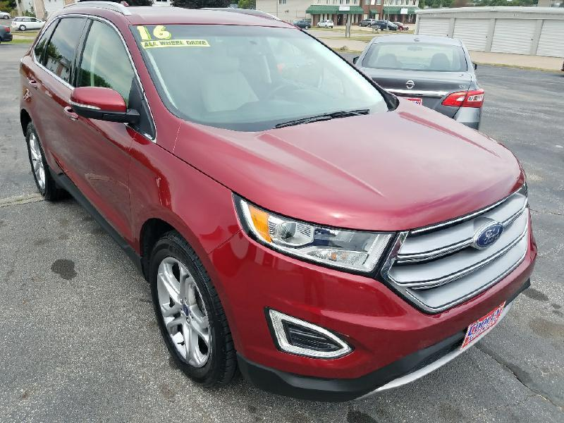 2016 Ford Edge Titanium AWD 4dr SUV - North Liberty IA