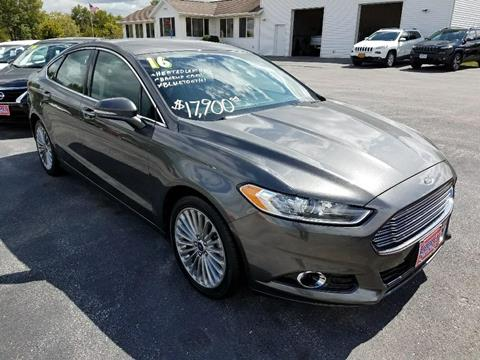 2016 Ford Fusion for sale in North Liberty, IA
