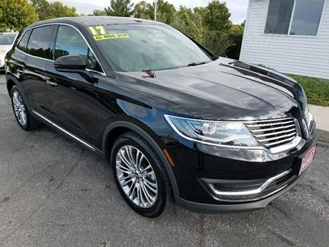2017 Lincoln MKX for sale in North Liberty, IA