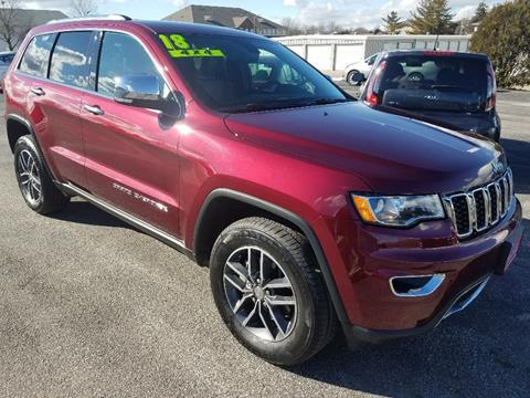 2018 Jeep Grand Cherokee for sale in North Liberty, IA