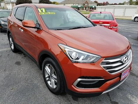 2017 Hyundai Santa Fe Sport for sale in North Liberty, IA