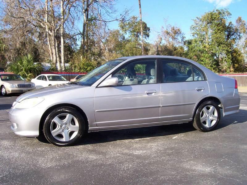 2004 Honda Civic EX 4dr Sedan - Holly Hill FL