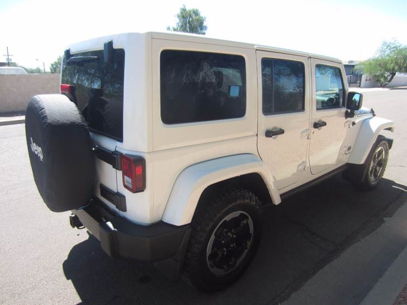 2014 Jeep Wrangler Unlimited 4x4 Altitude Edition 4dr SUV In Tempe