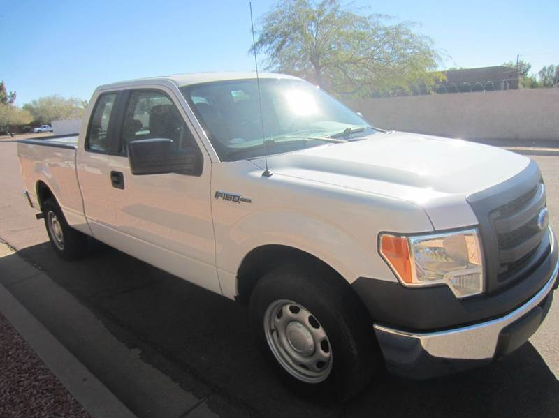 2013 Ford F-150 4x2 XL 4dr SuperCab Styleside 6.5 ft. SB - Tempe AZ
