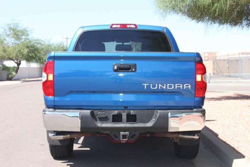 2016 Toyota Tundra 4x4 SR5 4dr CrewMax Cab Pickup SB (5.7L V8 FFV) - Tempe AZ