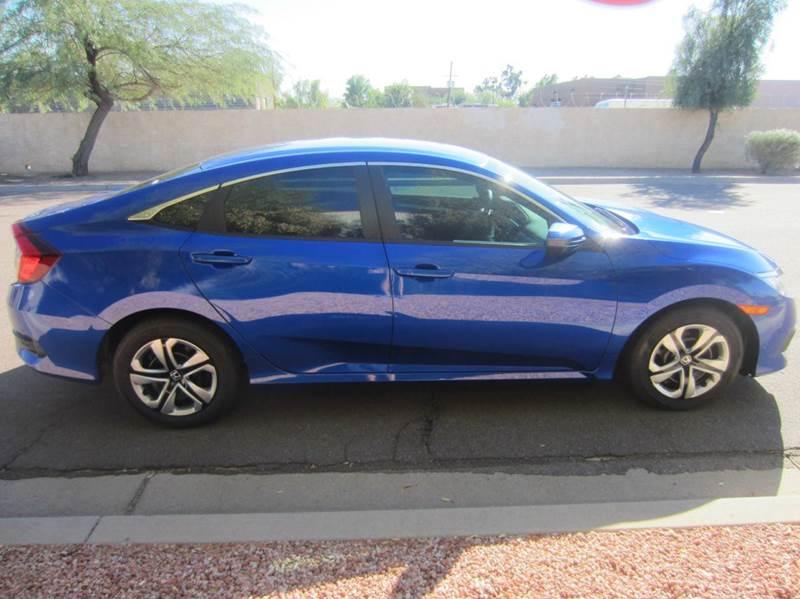 2016 Honda Civic LX 4dr Sedan CVT - Tempe AZ
