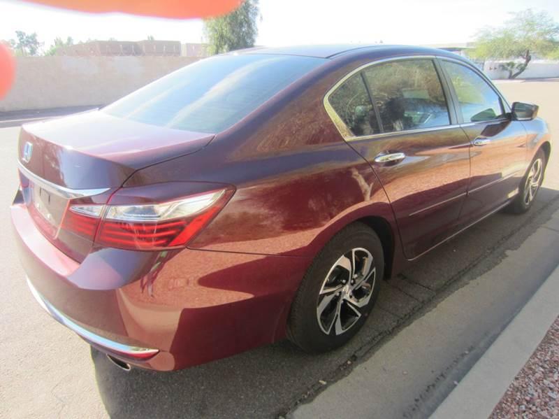 2016 Honda Accord LX 4dr Sedan CVT - Tempe AZ