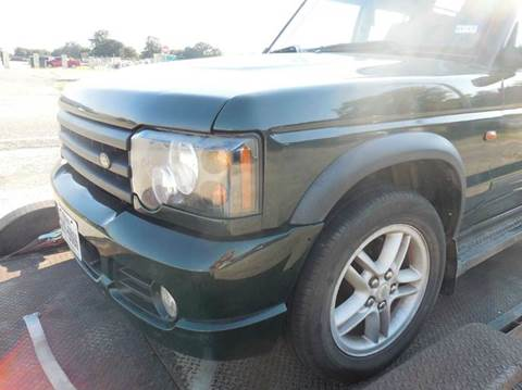 2004 Land Rover Discovery for sale in Gainesville, TX