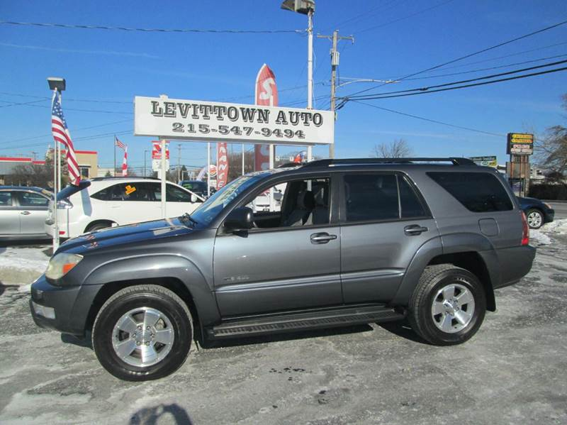 Roys Auto Sales >> 2003 Toyota 4Runner For Sale in Pennsylvania - Carsforsale.com