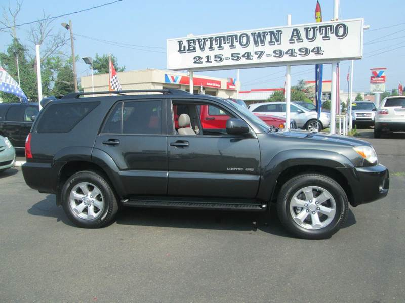 2007 Toyota 4Runner Limited 4dr SUV 4WD V6   Levittown PA