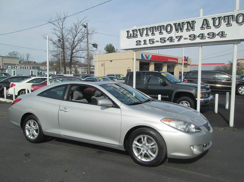 2006 Toyota Camry Solara SE Sport 2dr Coupe w/Manual - Levittown PA