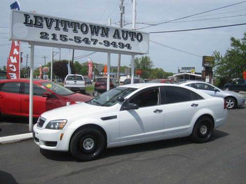 2013 Chevrolet Caprice for sale in Levittown, PA
