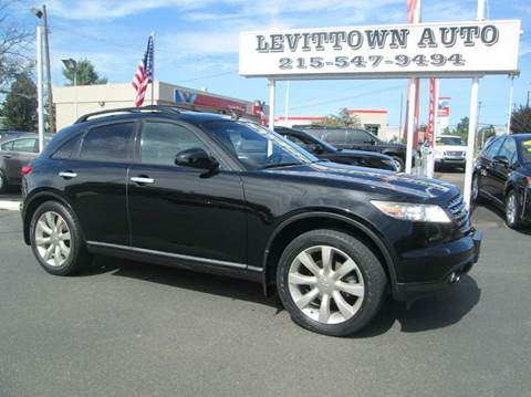 2003 Infiniti FX45 for sale in Levittown, PA