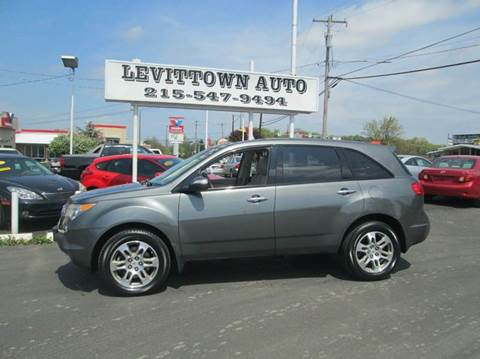 2007 Acura MDX for sale in Levittown, PA