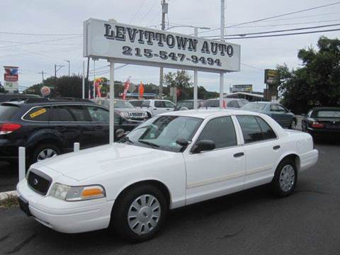 2011 Ford Crown Victoria for sale in Levittown, PA