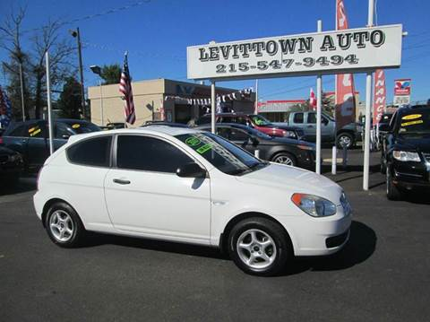 2007 Hyundai Accent for sale in Levittown, PA