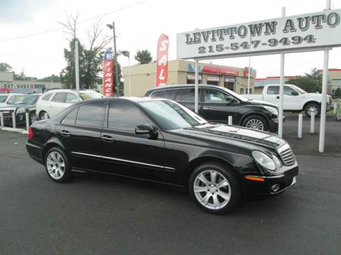 2009 Mercedes-Benz E-Class for sale in Levittown, PA