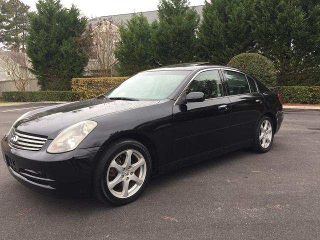 2003 Infiniti G35 Luxury 4dr Sedan w/Leather - Virginia Beach VA