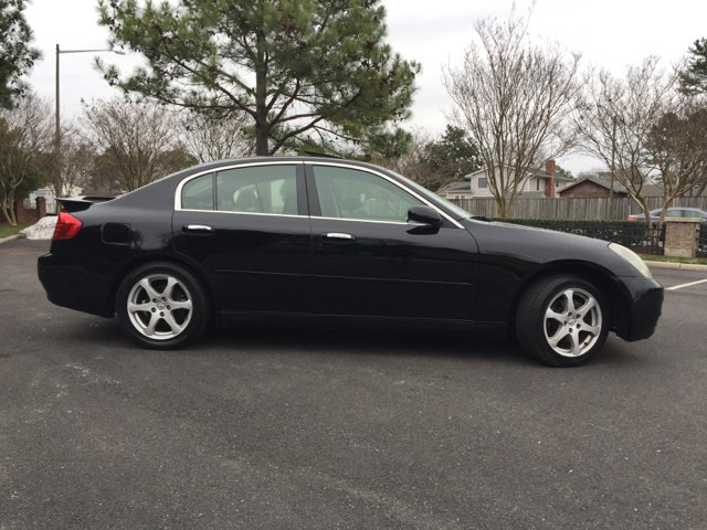 2003 Infiniti G35 Luxury 4dr Sedan w/Leather - Virginia Beach VA
