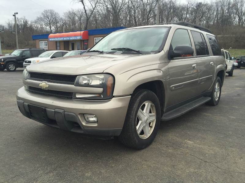 2003 chevrolet trailblazer ext lt 4wd 4dr suv in chillicothe oh instant auto sales. Black Bedroom Furniture Sets. Home Design Ideas