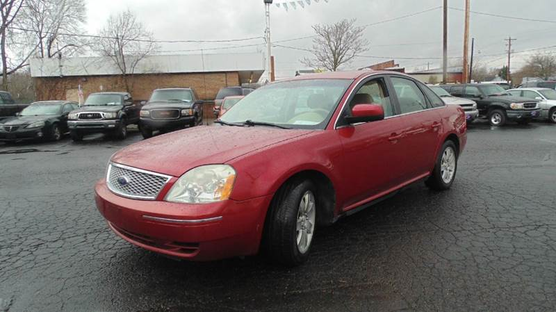2007 ford five hundred sel 4dr sedan in chillicothe oh instant auto sales. Black Bedroom Furniture Sets. Home Design Ideas