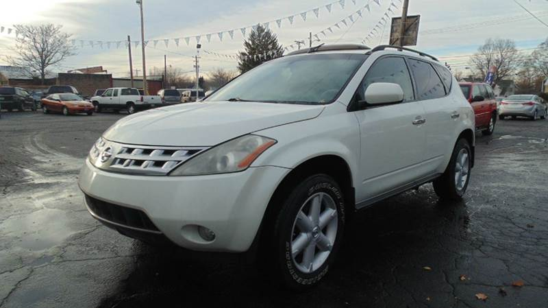 2004 nissan murano awd sl 4dr suv in chillicothe oh instant auto sales. Black Bedroom Furniture Sets. Home Design Ideas