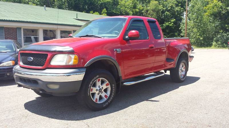 2002 ford f 150 4dr supercab xlt 4wd flareside sb in chillicothe oh instant auto sales. Black Bedroom Furniture Sets. Home Design Ideas