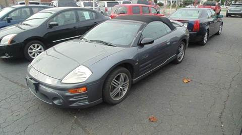 2003 Mitsubishi Eclipse Spyder for sale in Lancaster, OH