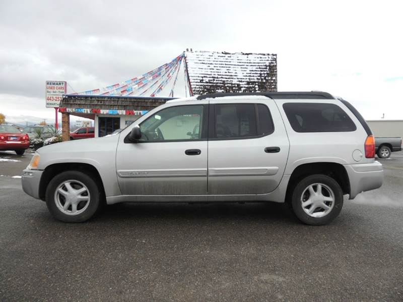 2004 gmc envoy xl sle 4wd 4dr suv in helena mt remart inc. Black Bedroom Furniture Sets. Home Design Ideas