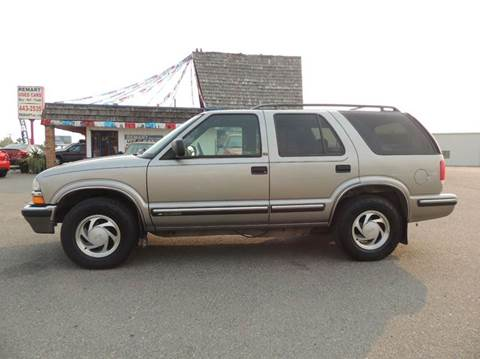 1999 Chevrolet Blazer For Sale  Carsforsalecom