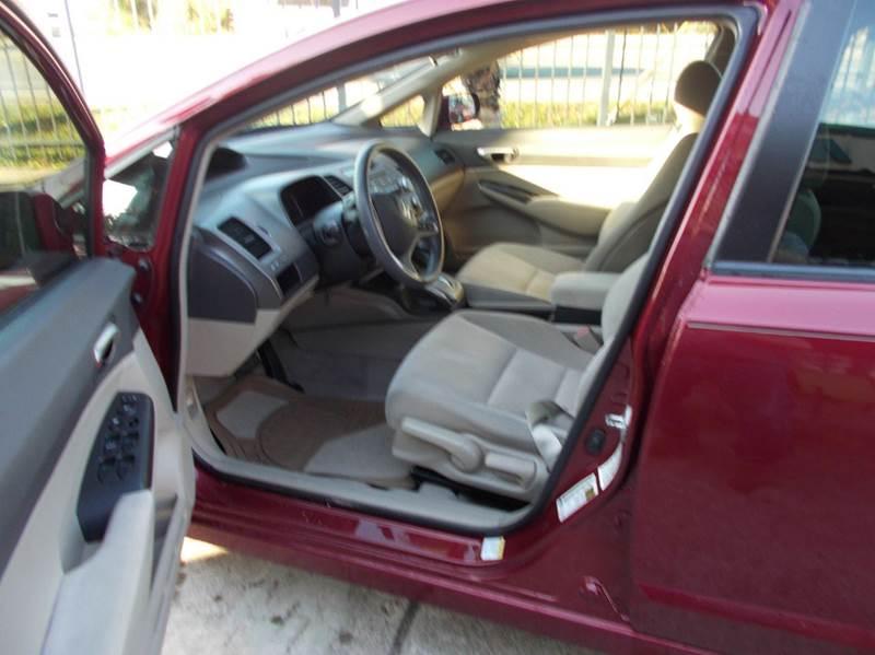 2009 Honda Civic LX 4dr Sedan 5A - Tomball TX
