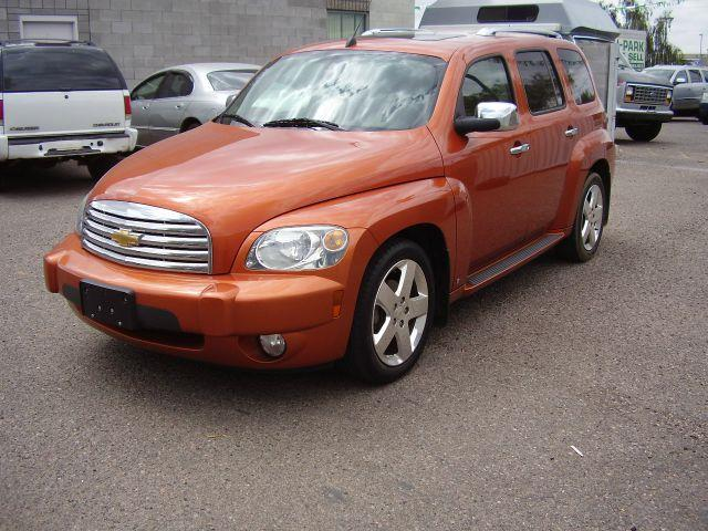2007 CHEVROLET HHR LT 4DR WAGON orange 24 l engine leather interior black in color has a great o