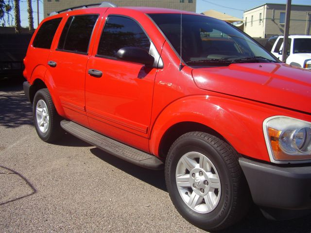 2004 DODGE DURANGO ST 4WD 4DR SUV red abs - 4-wheel axle ratio - 355 center console clock cru