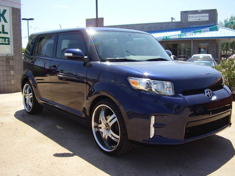 2013 SCION XB BASE 4DR WAGON abs - 4-wheel airbag deactivation - occupant sensing passenger ante